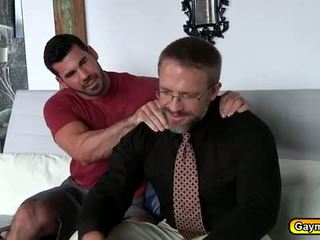 Awesome gay sex after work