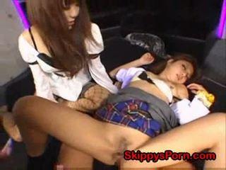 Japanese schoolgirl molested