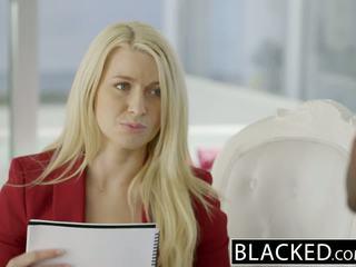 Blacked бизнес блондинки anikka albrite дупе прецака от а bbc