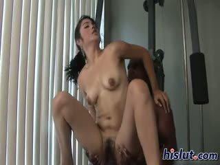 brunette, blowjob, cumshot