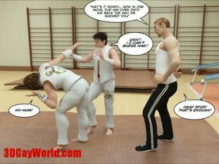Kung fu guys 3d gay dibujos animados animated comics