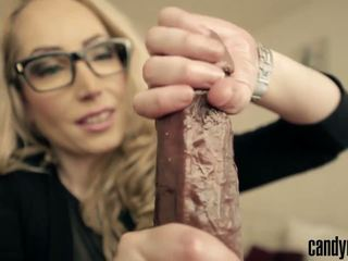 Candy May - POV Handjob with a Big Wrist Watch: HD Porn c2