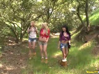 Georgia jones y su 2 bonita girlfriends joder