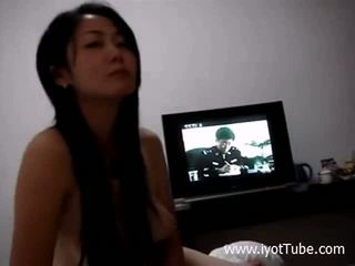 Beautiful Chinese Girl Gives A Blowjob