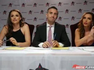 Nikki Benz & Tori Black Judging Girls Blowjob Skills in Dpstar Season 3 Episode 3 Video