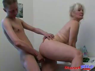 Russa sexy avó lena e slava