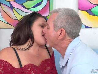 Full Figured Crystal Valentine Sucks a Fat Cock and...