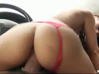 Latina nikita bellucci banged în the masina