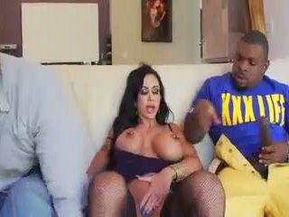 Dirty Mother Taking Care 2 Black Cocks