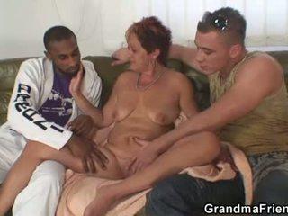 膚色 三人行 狂歡 同 奶奶