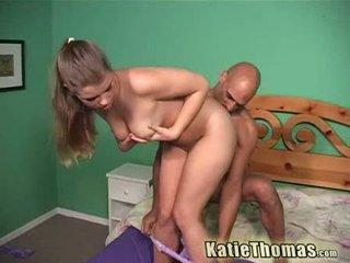 Katie thomas taking o fin