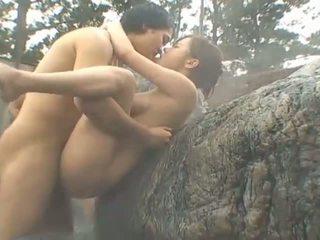 japonês, sexo em público, big boobs, grupo