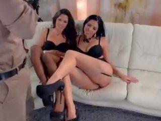 Horny Lingerie Models Extra Fucking Hot Threesome.Mp4