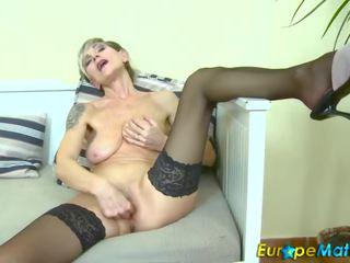 striptease, old, masturbate