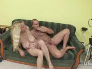 big boobs, cumshot, mature, german