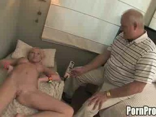 Busty Teen Seduces Her Boyfriends Old Fart Dad For Sex