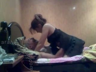 Arab Wife With Old Hubby-asw983