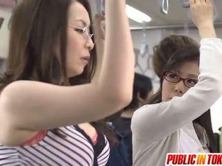 japanisch, sex in der öffentlichkeit, gruppen-sex, blowjob