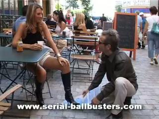 francoska, femdom, ballbusting