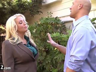 Busty MILF Boss Makes a Dirty Deal!