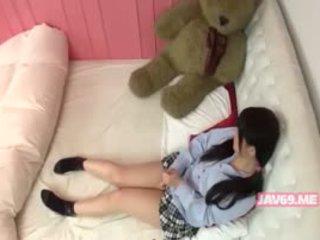 Manis terangsang korea gadis having seks