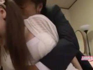 Beautiful Seductive Asian Babe Having Sex