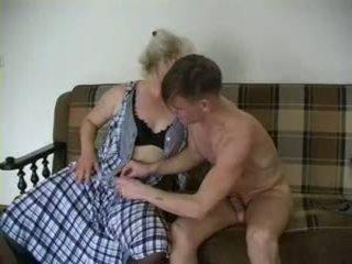 Sexig mormor lena och alex