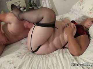 Fat mature licked and fucked