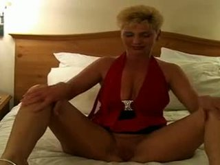 Sexy Blonde Mature Mom Getting Black Dick From Bot