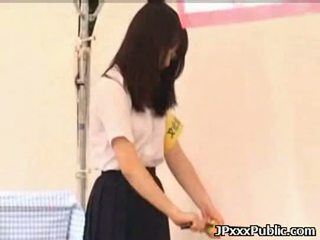 Sexy japanese teens fuck in public places 08