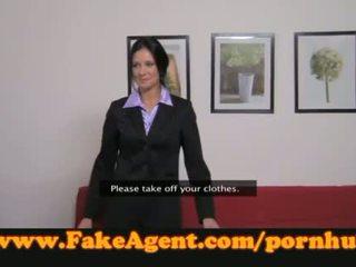 FakeAgent teacher takes a spanking