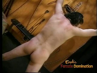 Foxy Redhead Wench Enjoys Whipping Her Extremely Horny