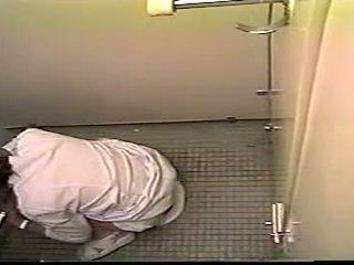 Japanese Nurse Caught Masturbating In Toilet - Hid