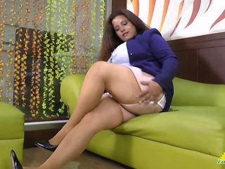 Latinchili Rosaly is Masturbating Her Fat Latin Granny