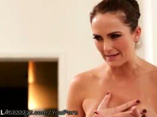 Allgirlmassage accidental lesbian tribbing