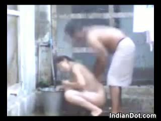 shower, outdoor, indian, amateur