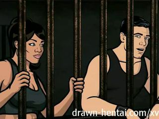 Archer เฮนไท - คุก เพศ ด้วย lana