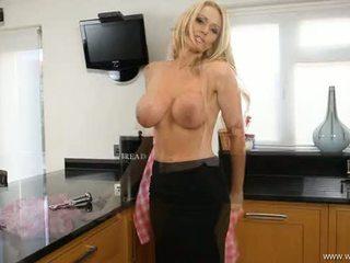striptease någon, ta blond färsk