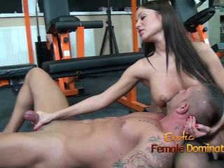Angelica Heart Smothers Her Slave with Her Breasts: Porn 98