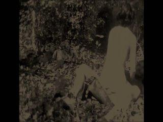Antik skogs utomhus