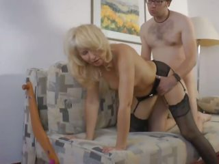 German Amteur Swinger Mom Moni and Dildo Sales Guy: Porn 1f