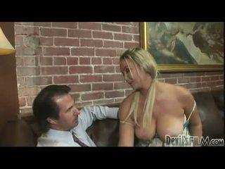 distracție mui, real blonde distracție, sânii mari frumos
