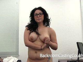 Big Tit Amateur Anal & Swallow Casting Fail