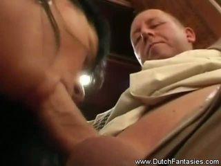 Father and Son Fuck a Lady, Free Dutch Fantasies Porn Video