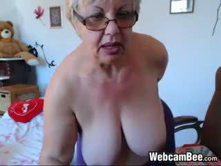 বিগ boobs, ওয়েবক্যাম, bbw, বৃদ্ধা