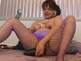 fishnet, anal, nipples, busty