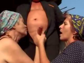 grannies, परिपक्व, ओल्ड + युवा, फेशियल