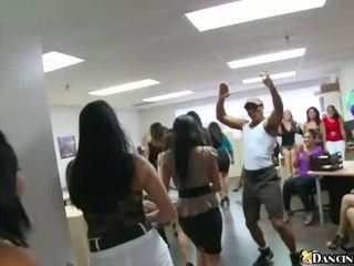 Office party and lots of sex