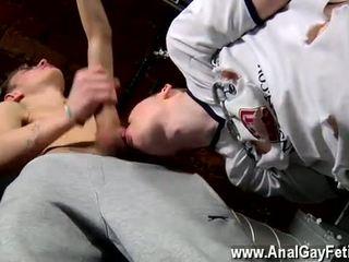 Naked men Matt Schooled In Cock Sucking