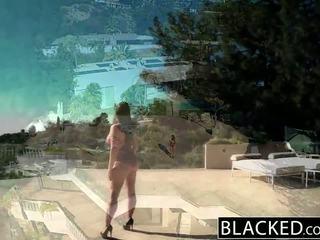 Blacked كبير طبيعي الثدي الأسترالي فتاة angela أبيض fucks bbc